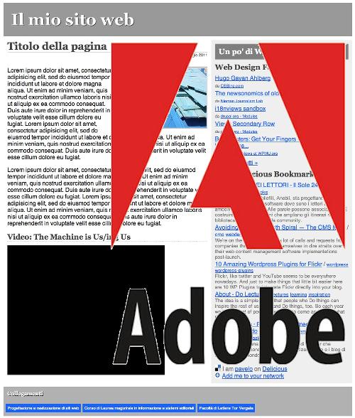 come Adobe vede il web del futuro