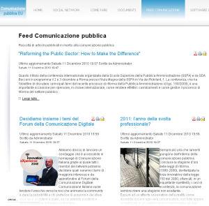 Feed Comunicazione pubblica