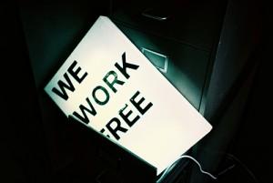 lavorare gratis per l'innovazione