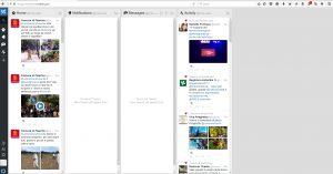 Schermata TweetDeck